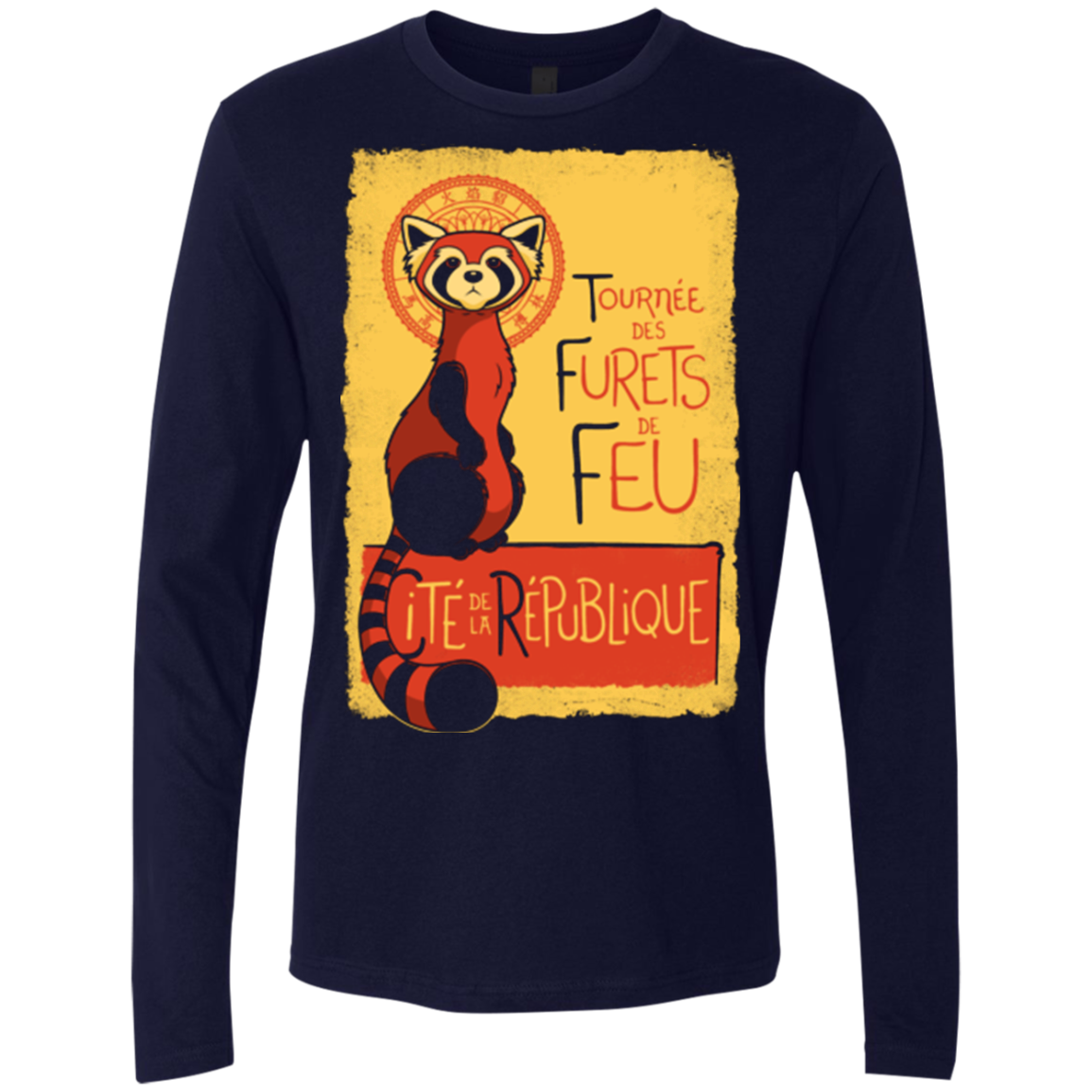 Les Furets de Feu Men's Premium Long Sleeve