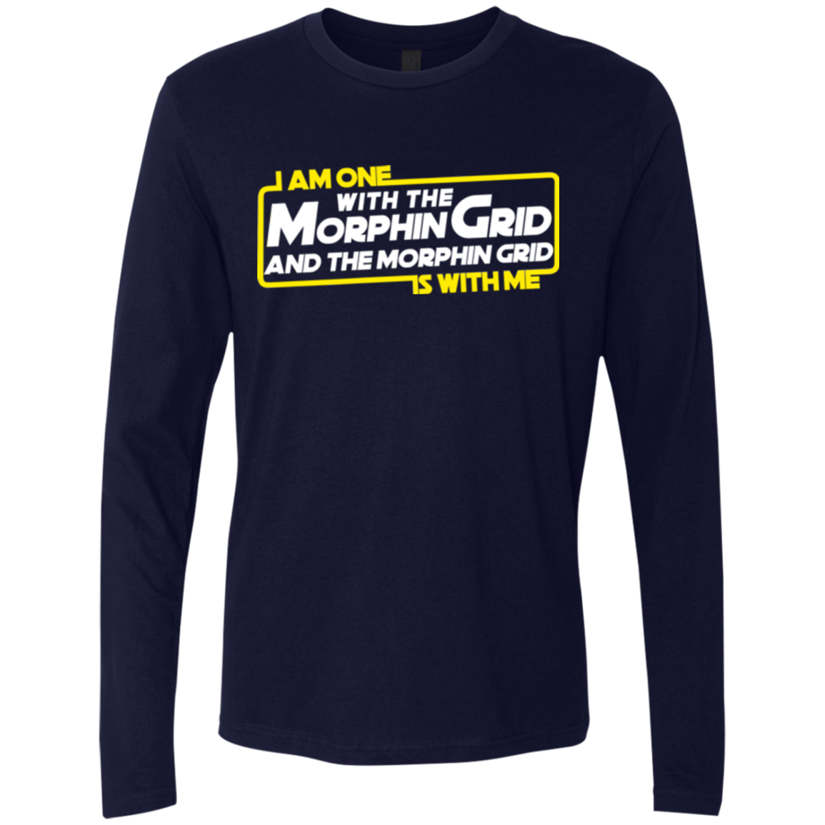 One With The Men's Premium Long Sleeve