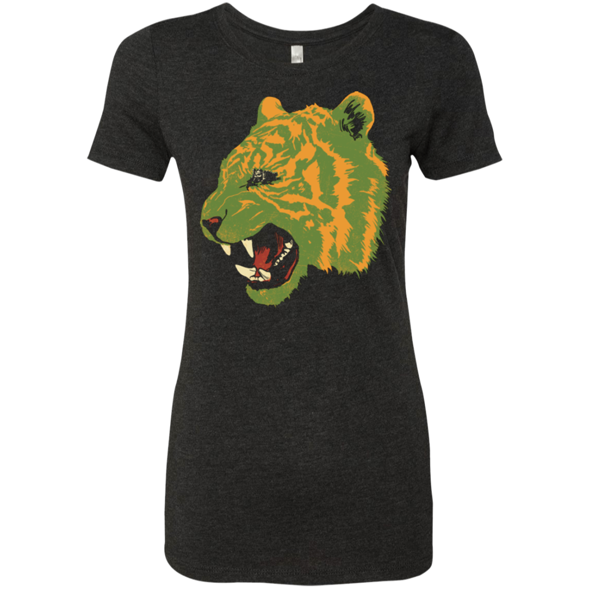 Eye Of The Tiger Women's Triblend T-Shirt