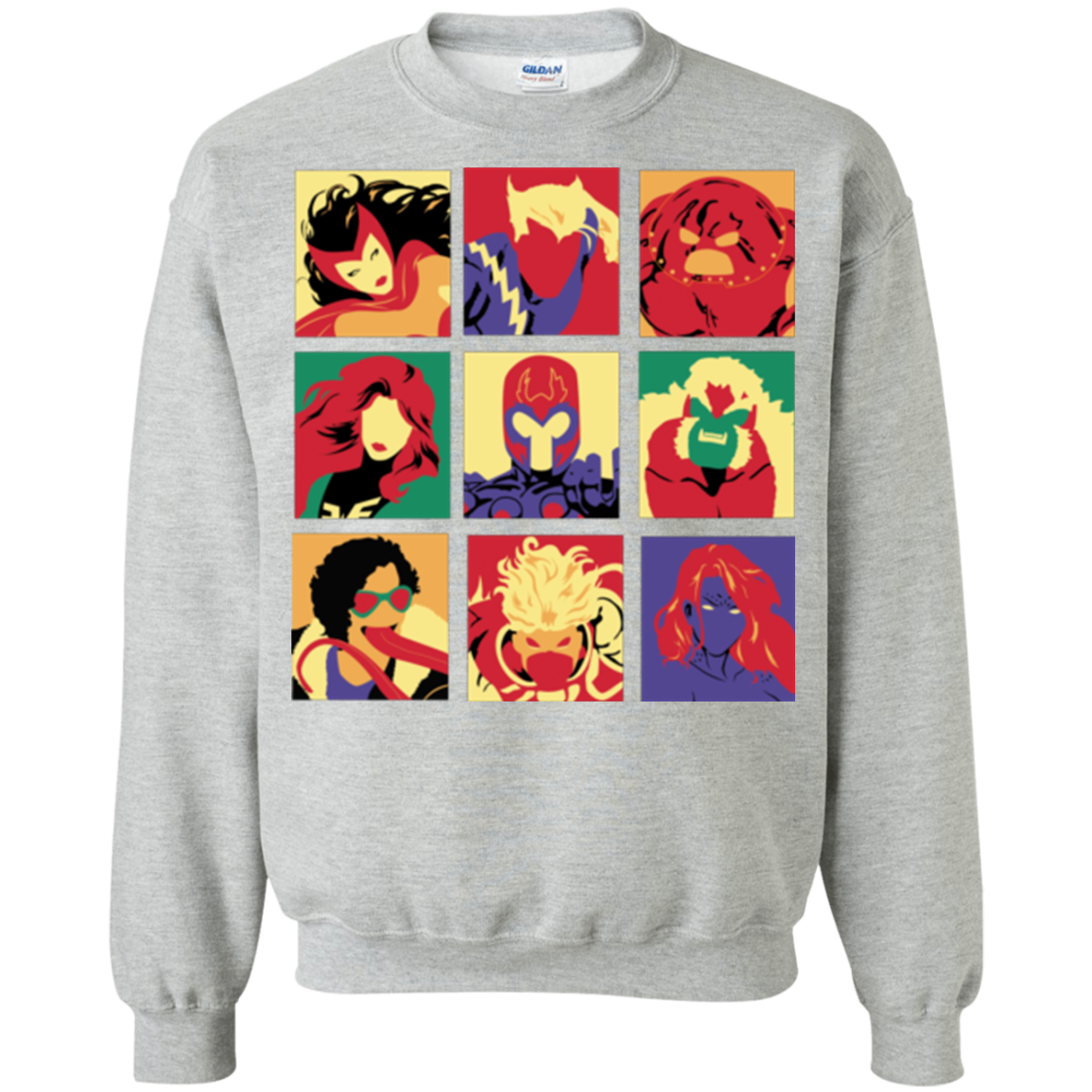 X villains pop Crewneck Sweatshirt
