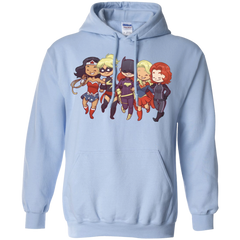 Power Girls Pullover Hoodie