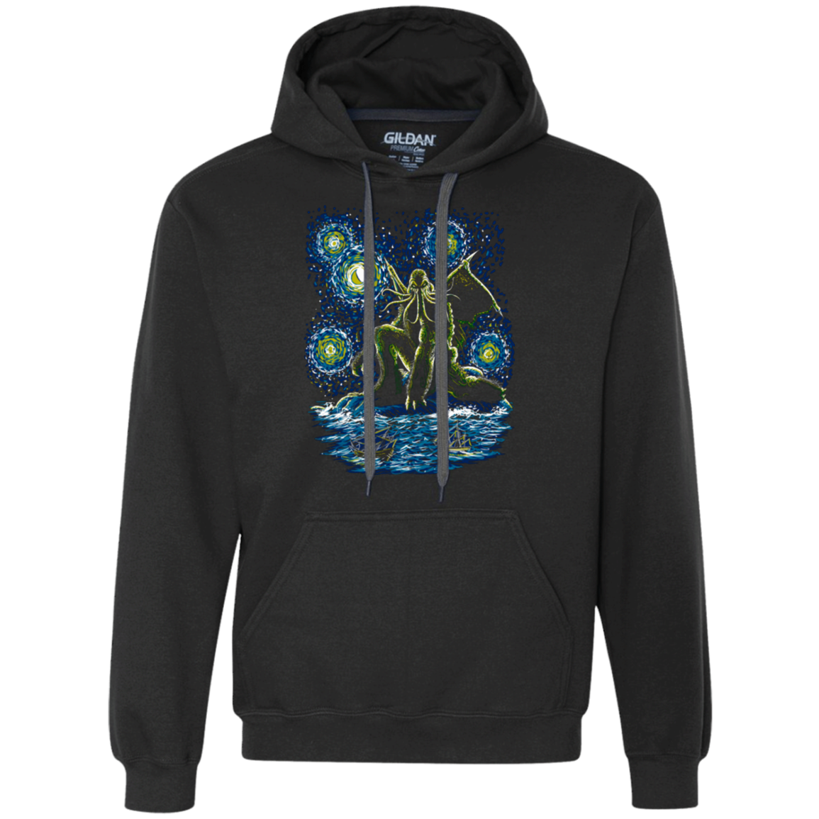 Night of Cthulhu Premium Fleece Hoodie