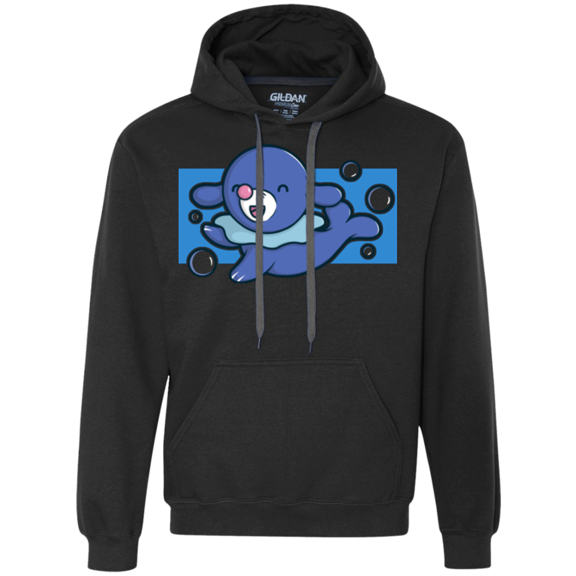 Super Cute Starter Popplio Premium Fleece Hoodie