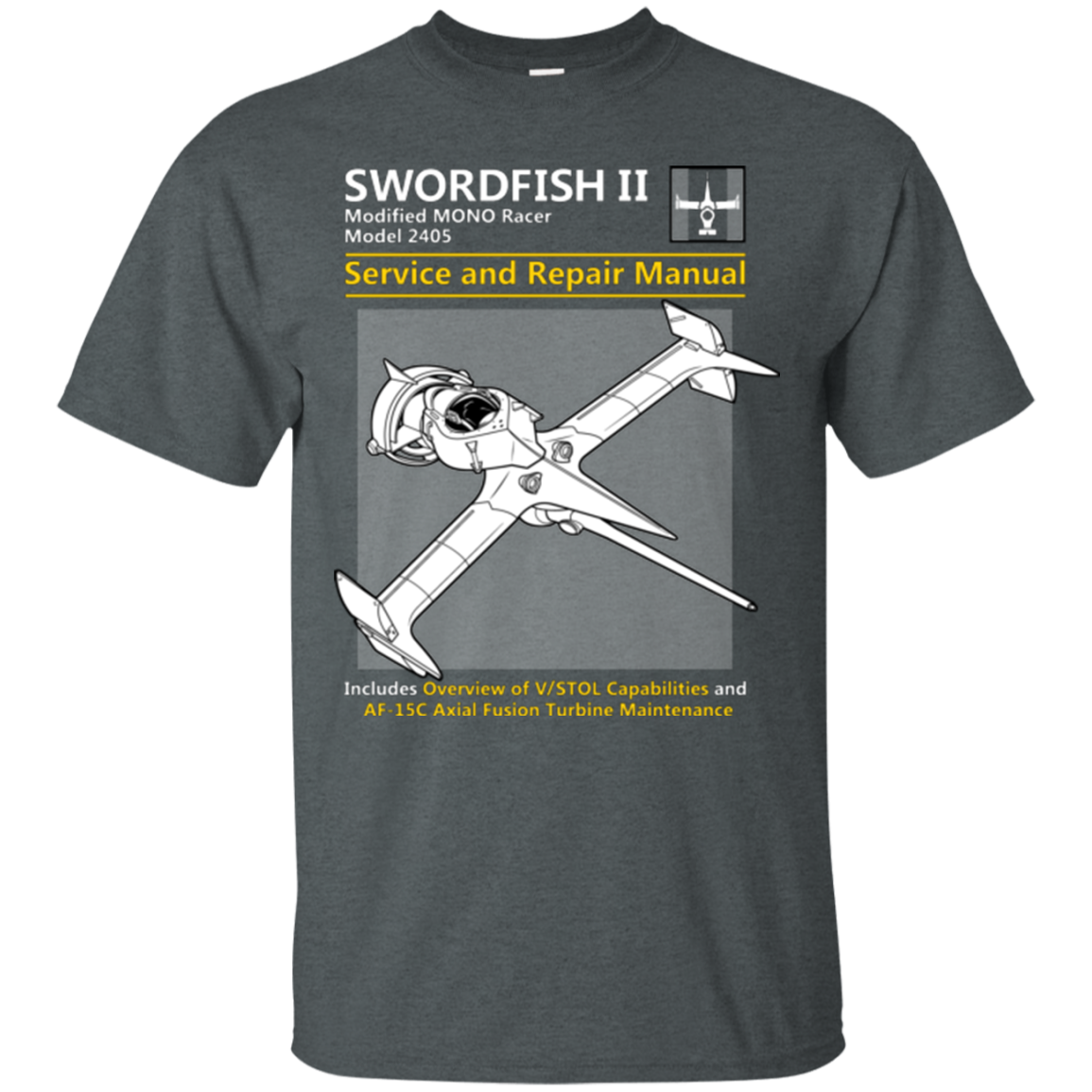 SWORDFISH SERVICE AND REPAIR MANUAL T-Shirt