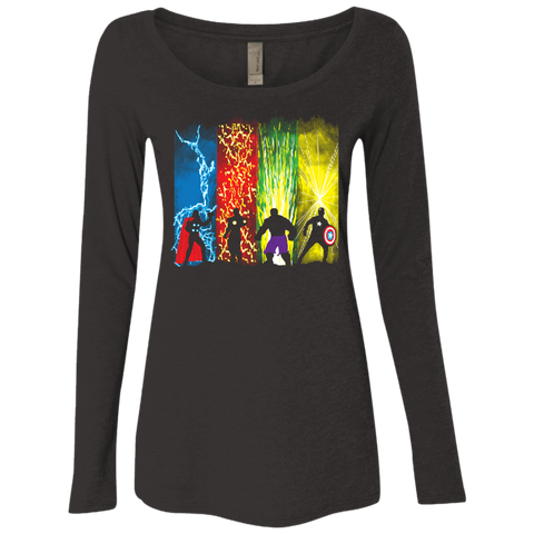 Justice Prevails Women's Triblend Long Sleeve Shirt