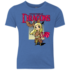 Mother of Dragons Youth Triblend T-Shirt