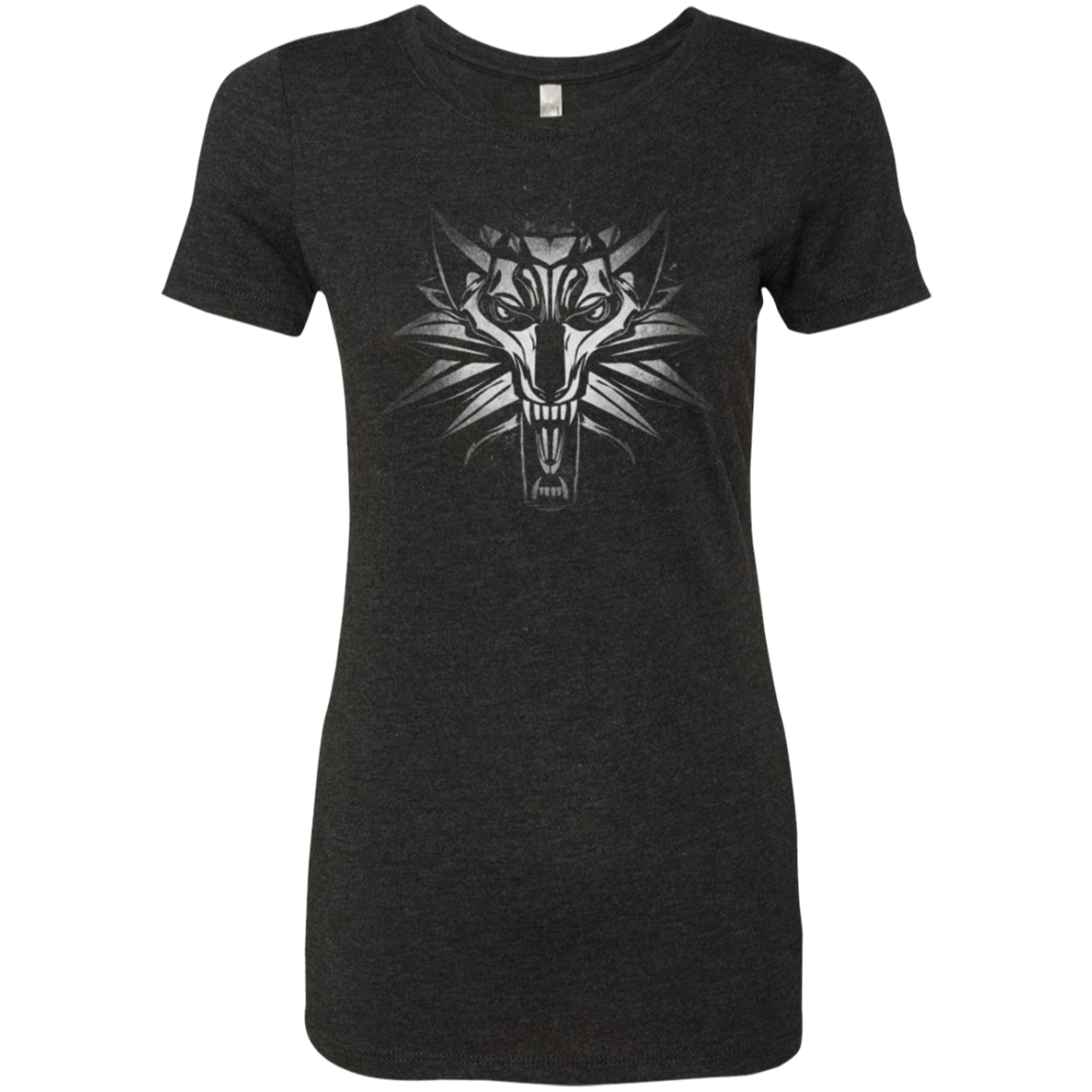 Graffiti White Wolf Women's Triblend T-Shirt