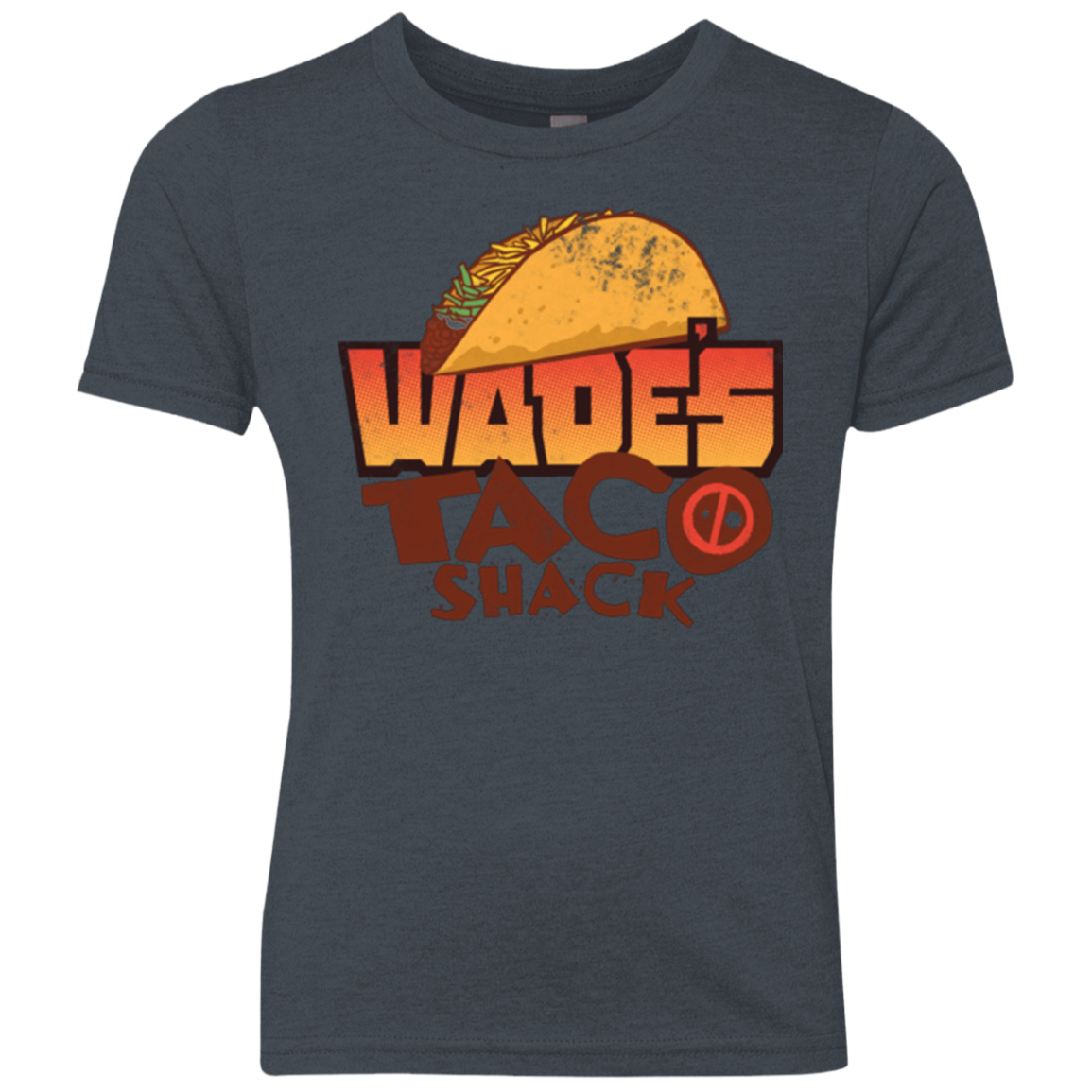 Wade Tacos Youth Triblend T-Shirt