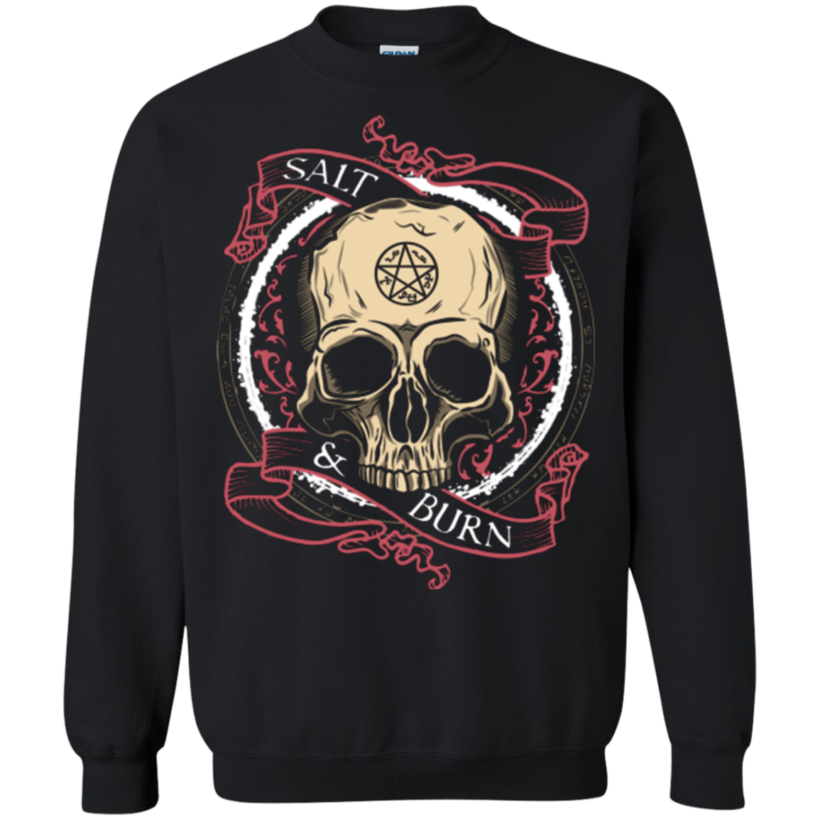 Salt and Burn Crewneck Sweatshirt