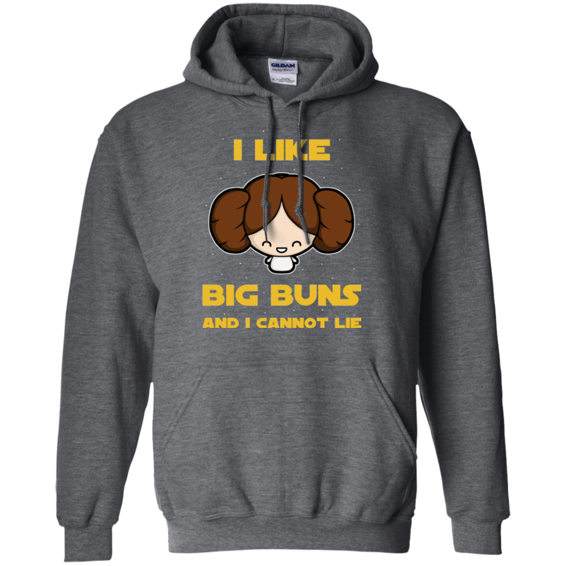 I Like Big Buns Pullover Hoodie