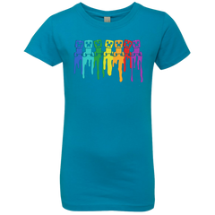 Rainbow Creeps Girls Premium T-Shirt
