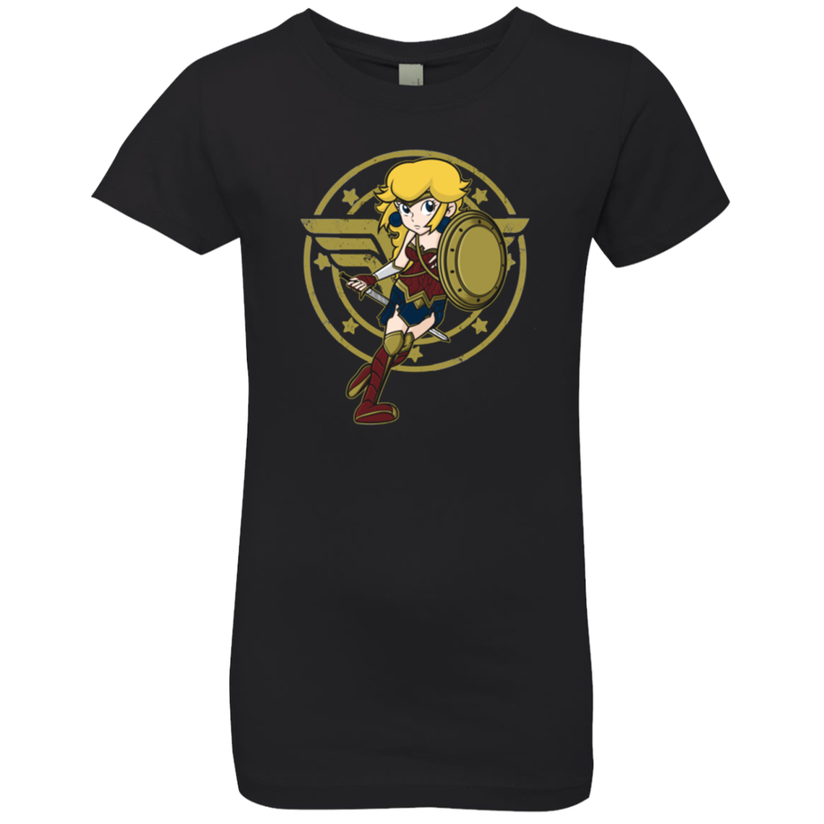 Wonder Peach Girls Premium T-Shirt