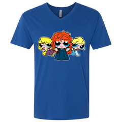 Princess Puff Girls2 Men's Premium V-Neck