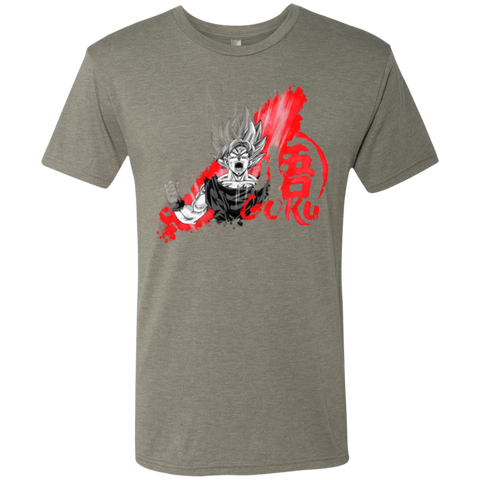 Red Goku Men's Triblend T-Shirt