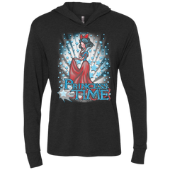 Princess Time Snow White Triblend Long Sleeve Hoodie Tee