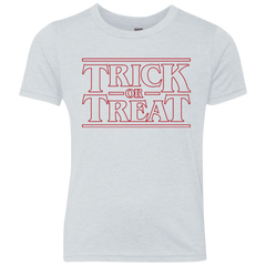 Trick Or Treat Youth Triblend T-Shirt