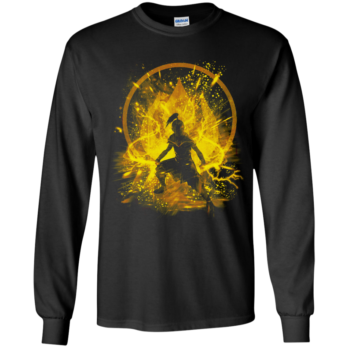 Fire Prince Youth Long Sleeve T-Shirt