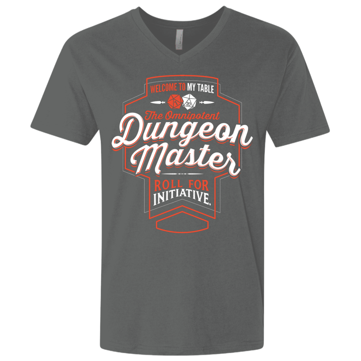 Dungeon Master Men's Premium V-Neck