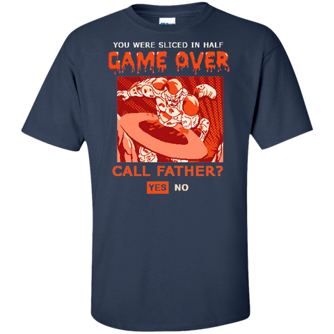 Game Over Frieza Tall T-Shirt