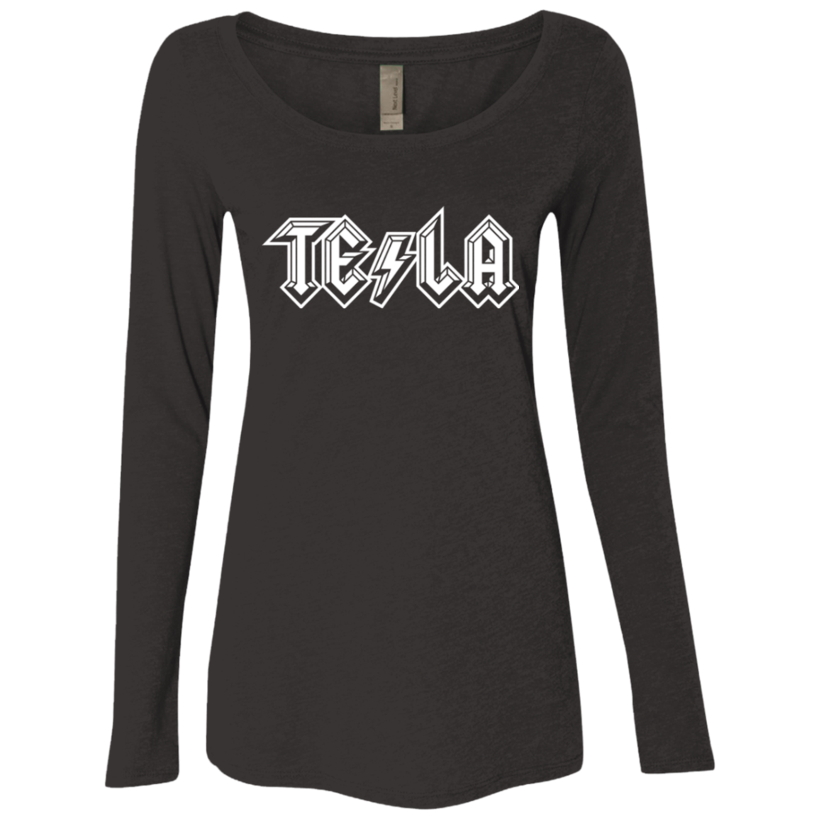 TESLA Women's Triblend Long Sleeve Shirt