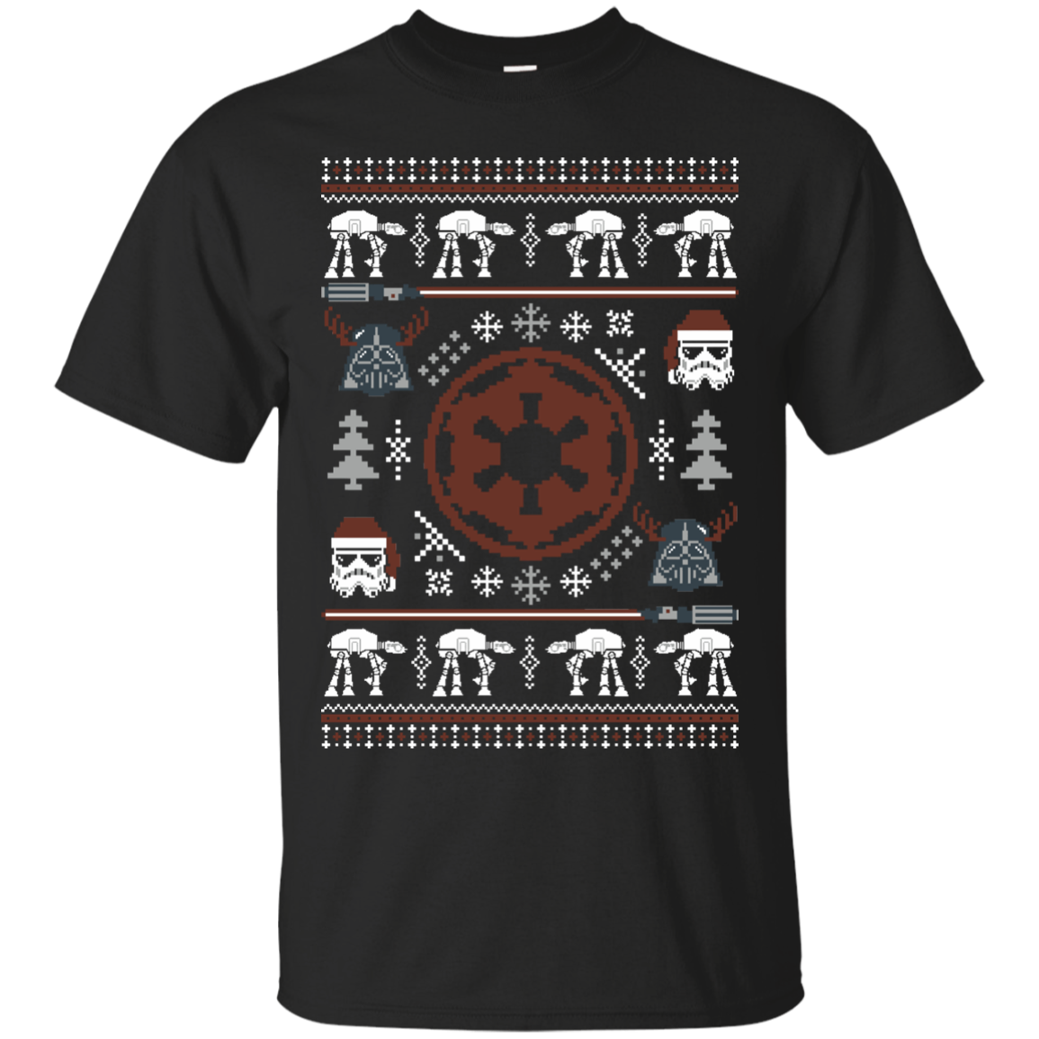 UGLY STAR WARS EMPIRE T-Shirt