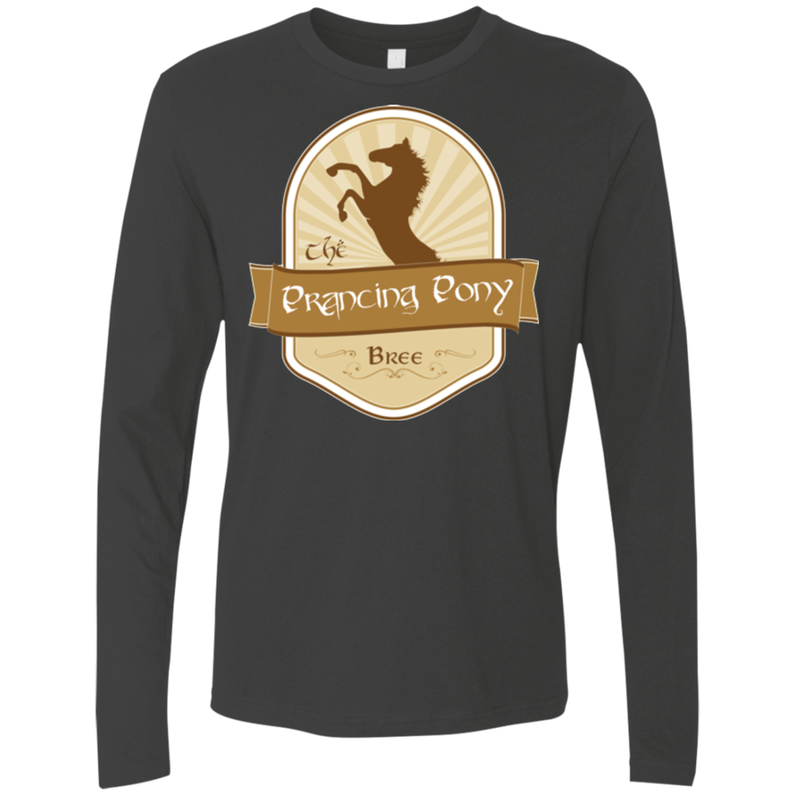 Prancing Pony Men's Premium Long Sleeve