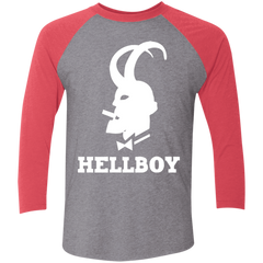 Hellboy Men's Triblend 3/4 Sleeve