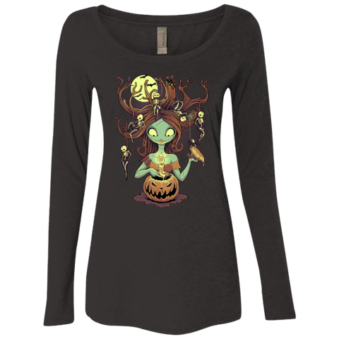 Knotty Nightmare Women's Triblend Long Sleeve Shirt