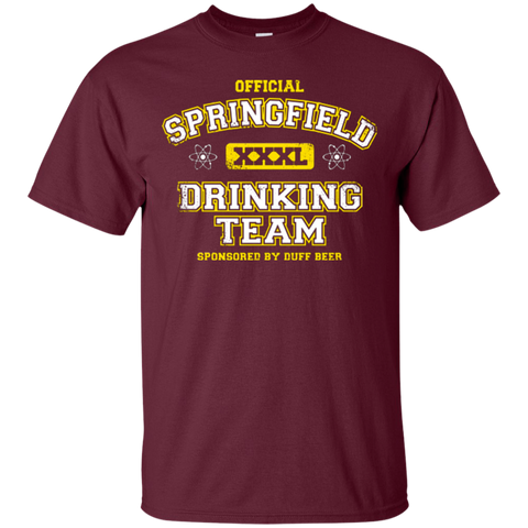 Springfield Drinking Team T-Shirt