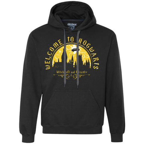 Welcome to Hogwarts Premium Fleece Hoodie