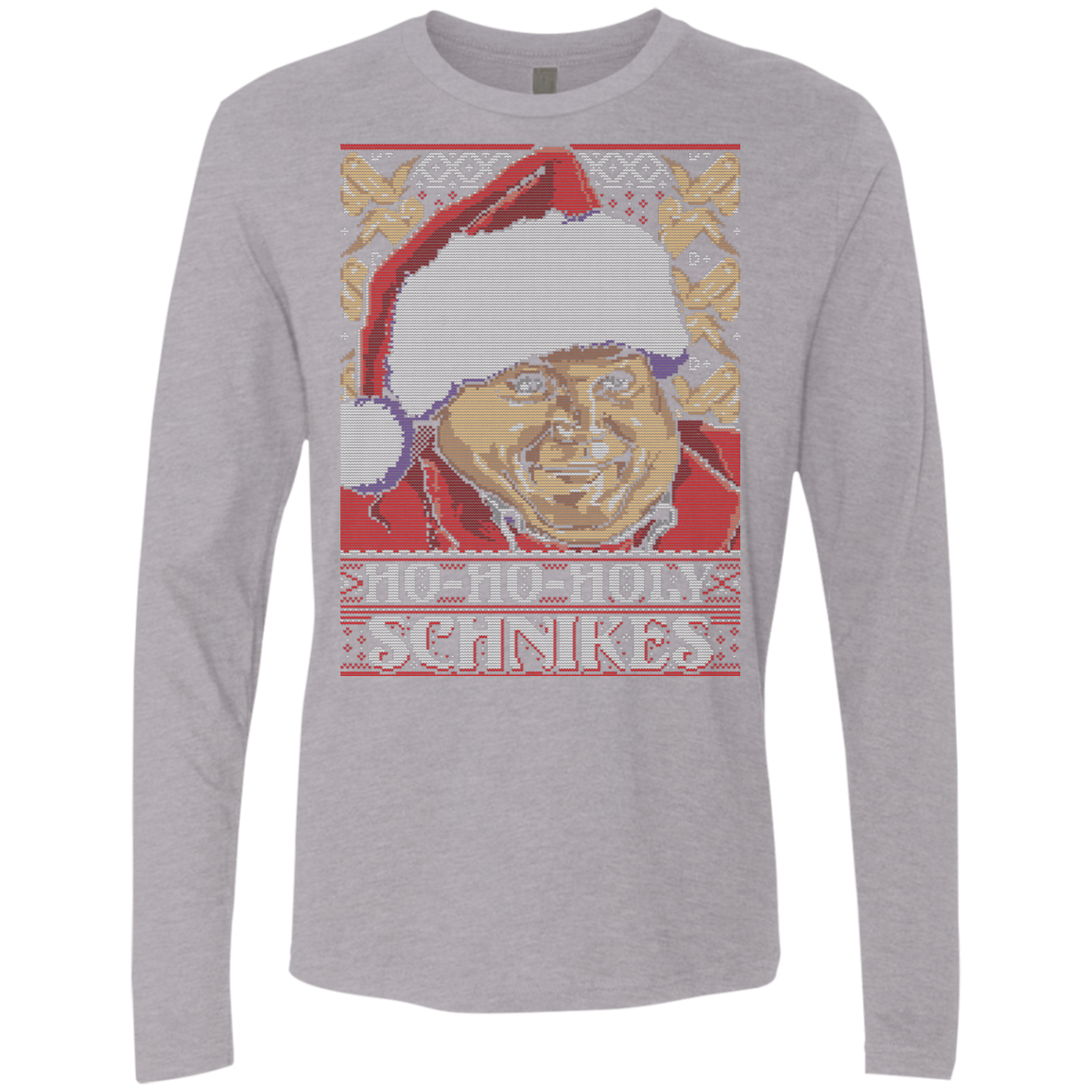 HOLY SCHNIKES Men's Premium Long Sleeve