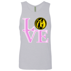 Pink Ranger LOVE Men's Premium Tank Top