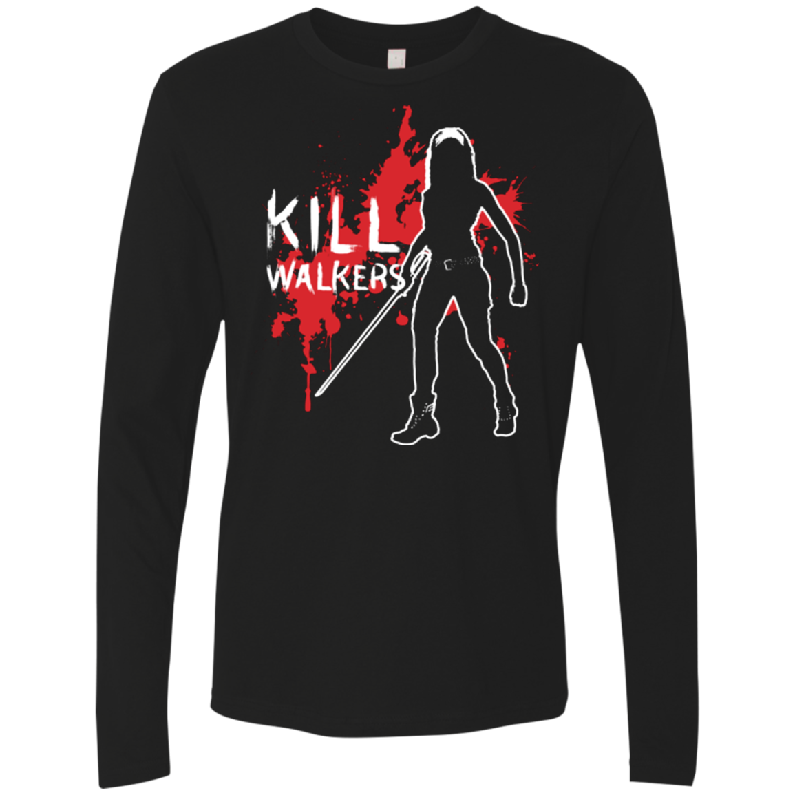 Kill Walkers (sword) Men's Premium Long Sleeve