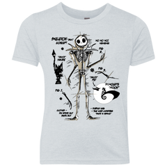 Skeleton Concept Youth Triblend T-Shirt