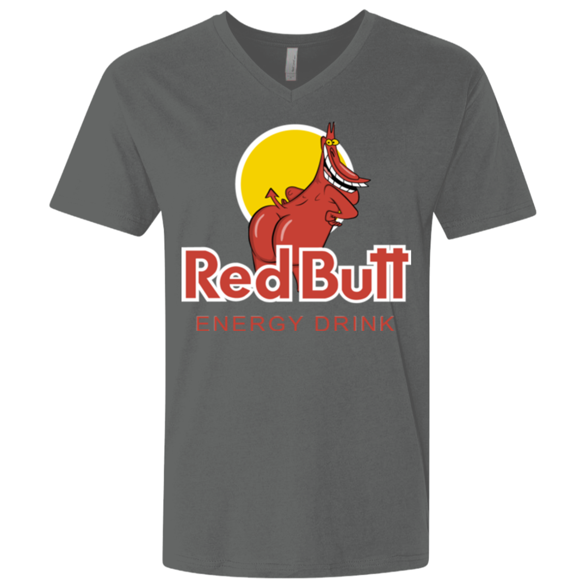 Red butt Men's Premium V-Neck