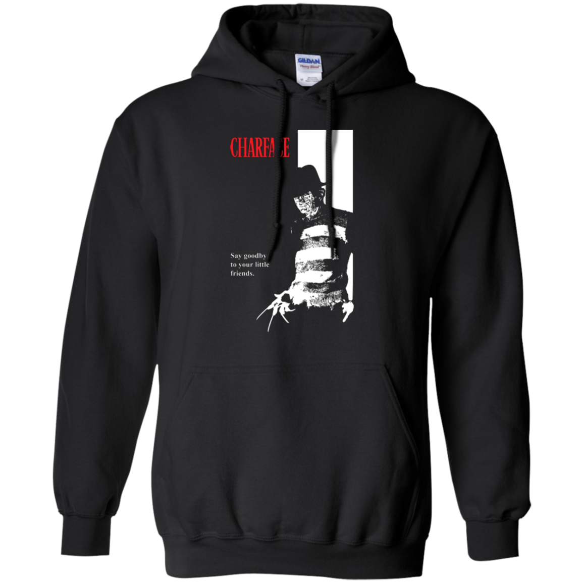 Charface Pullover Hoodie