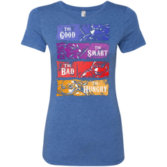 The Good, Bad, Smart and Hungry Women's Triblend T-Shirt