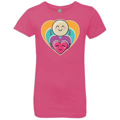Love to the Moon and Back Girls Premium T-Shirt