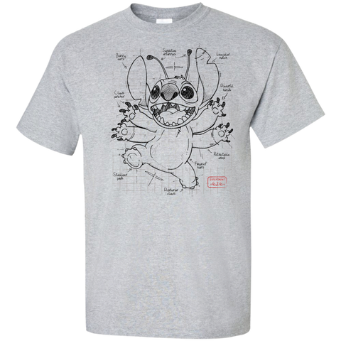 Stitch Plan Tall T-Shirt
