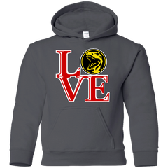 Red Ranger LOVE Youth Hoodie