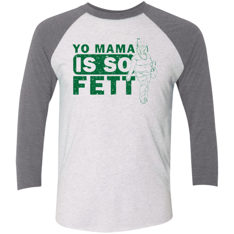 So Fett Triblend 3/4 Sleeve
