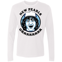 New Pearls Men's Premium Long Sleeve