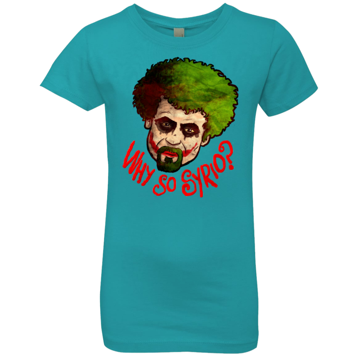Why So Syrio Girls Premium T-Shirt