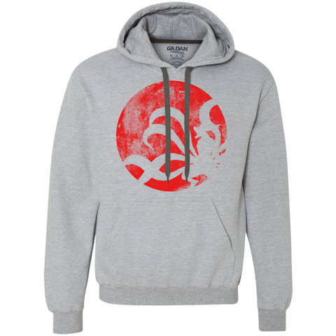 The Rage of the Tailed Beast Premium Fleece Hoodie