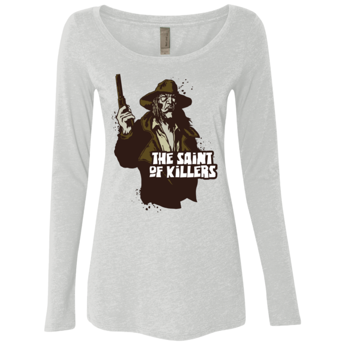 Saint Of Killers Women's Triblend Long Sleeve Shirt