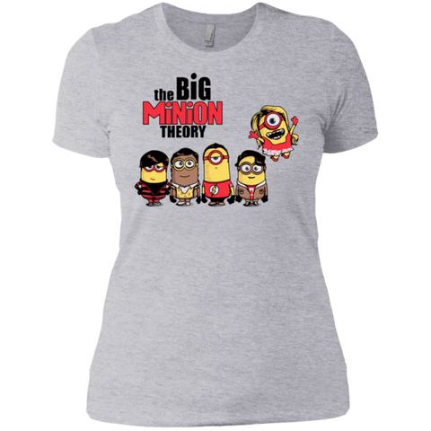 THE BIG MINION THEORY Women's Premium T-Shirt