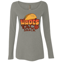 Wade Tacos Women's Triblend Long Sleeve Shirt