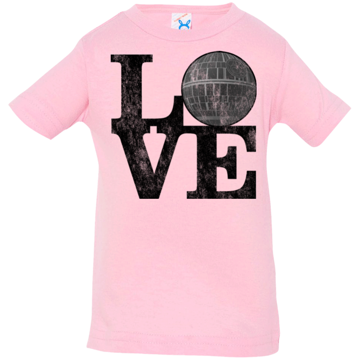 LOVE Deathstar 1 Infant Premium T-Shirt
