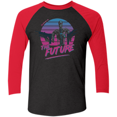 Welcome to the Future Men's Triblend 3/4 Sleeve