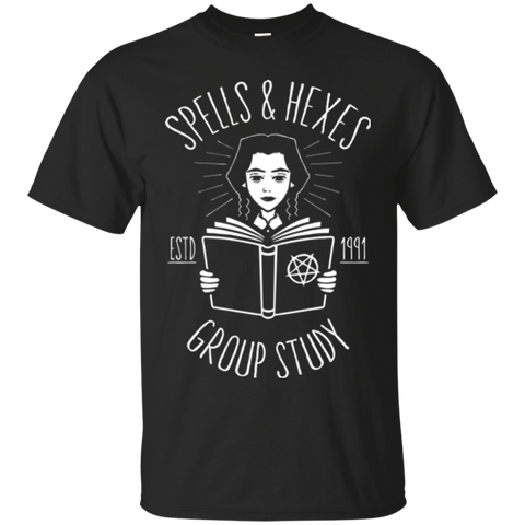 Spells and Hexes Group Study T-Shirt